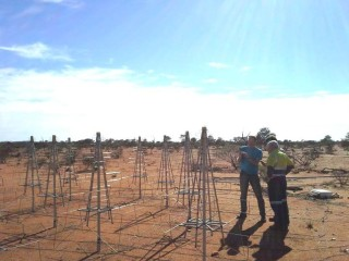 Low Frequency Aperture Array Antennas at the Murchison Radio Observatory