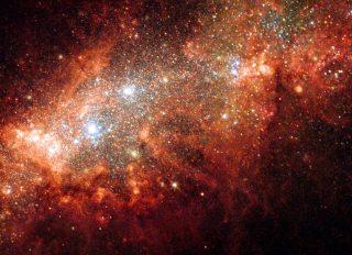 Cluster of Stars in Milky Way